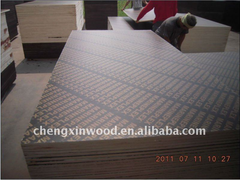 Angola cheap high bending strength black wood template for construction