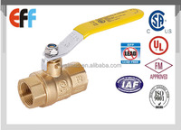 Wholesale Price China Supplier Female Thread NPT water Brass Ball Valve with CSA UL FM certificated