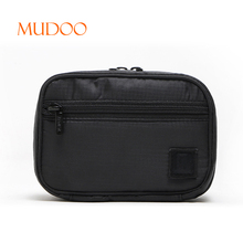 WHOLESALE BLANK WOMEN OXFORD CLOTH TRAVEL LARGE CAPACITY SIMPLE WATERPROOF CLUTH COSMETIC BAG MAKEUP BAG HANDBAG SUPPLIER