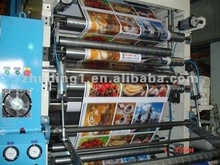 BOPP PET PVC ALUM FOIL PAPER FLEXO PRINTING MACHINE