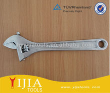 "12"" European style Chrome Finish Adjustable Wrench for repairing bike"
