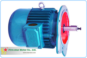 4.5kw Conical rotor Motor for concrete mixer