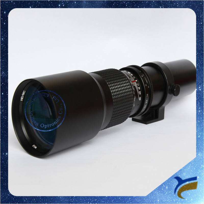Good quality Universal 500mm F/8-32 Telephoto Lens For Canon For Nikon For Sony For Pentax For Olympus Dslr Camera