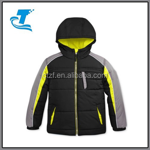 Hot Sale Protection System Little Boys' Puffer Jacket