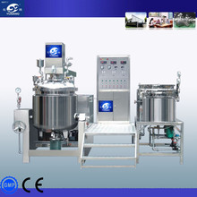 2015 China YUXIANG hot-sale Vacuum Homogenizer Mixer for Emulsion