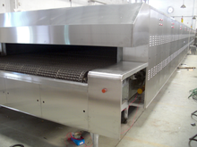 Electric Automatic production bread tunnel oven pita bread production line
