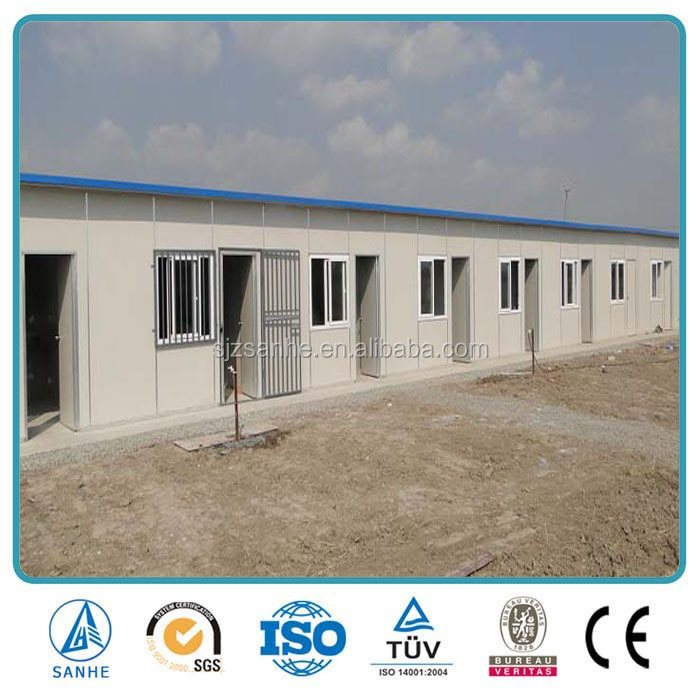 2016 prefab portable camp house/Dwelling portable building House on field work