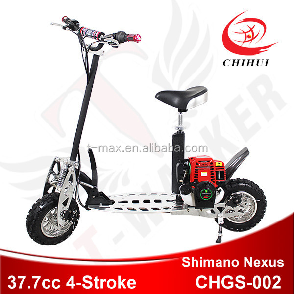 2 wheel foldling 37cc 2-stroke gas scooter hot on sale