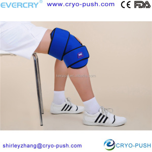 Knee Ice Pack, Knee Ice Wrap, Knee Cold Therapy