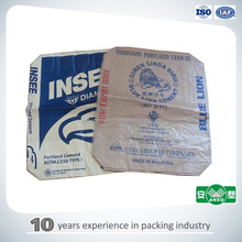 cement package standard size cement bag size