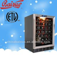58-Bottle Capacity wine cooler,Single Zone Compressor Cooling Built-in or Free Standing Wine Cellar/wine cooler