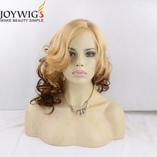 Free sample two tone color lace wigs for white people