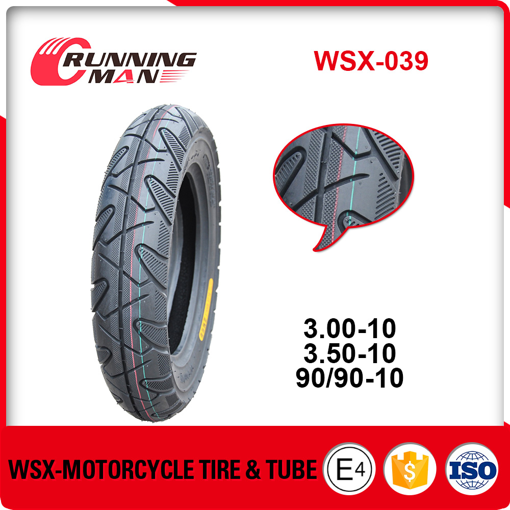 WSX-039 China Manufacture Price Motorcycle Tire 3.00-10 3.50-10 90/90-10