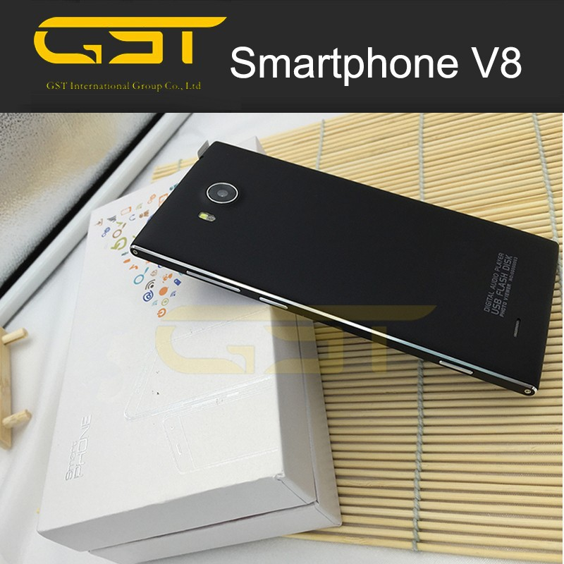 Factory original easy used Low cost 3G IPS Display V8 smart android mobile phone