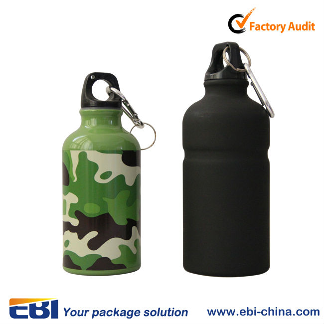 high quality pop top sports water bottle