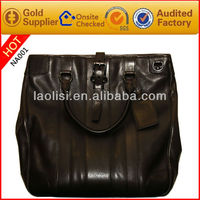 Alibaba italian stylish vintage leather bags mens hand-bags brand name