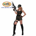 hot soldier girl costume (12-177 ) as Halloween costume for lady with ARTPRO brand