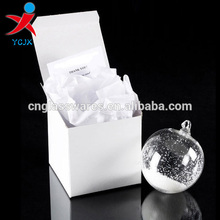 clear glass ball decorations