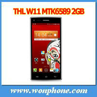 5.0 inch FHD Screen 13MP+13MP 2GB+32GB Quad Core MTK6589T 1.5GHz Android 4.2 Mobile Phone THL W11