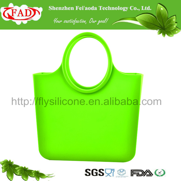 2017 Hot sale silicone beach handbag,fashion silicone women bag