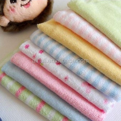 Gift Wholesale 8pcs/Pack Baby Face Washers Hand Towels Cotton Wipe Wash Cloth