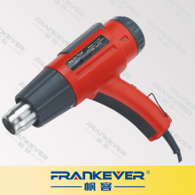 Frankever LCD display digital heat gun adjustable temperature hot air gun