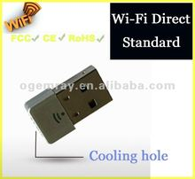 STB WiFi Direct Standard Nano Wi-Fi USB Dongle with 5370 Chipset