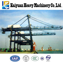 A 100 t high efficiency heavy duty shore crane that used at seaport to handle the containers from Bangladesh
