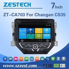 gps software for car stereo for Changan CS35 car dvd player multimedia