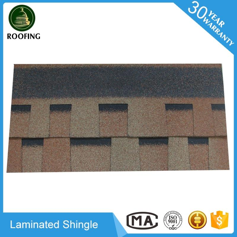 Hot selling Laminated Best Asphalt Shingles,roofing tile made in China