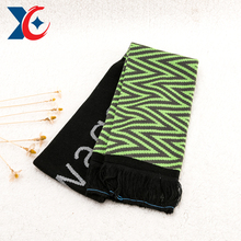 Graphics customization dubai knitted scarf wholesale