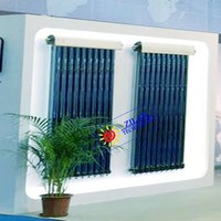 solar thermal collectors 10 Tubes SRCC Approved High Pressure Heat Pipe Solar Collector for Swimming pool