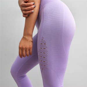 Sexy Seamless Yoga Pants Great Stretch Sports Custom Print Leggings Tights Wholesale Yoga Pants For Women