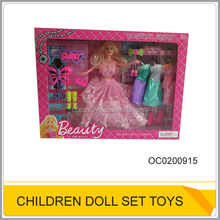 Baby girl toys small plastic doll wholesale OC0200915