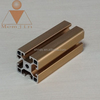 best selling aluminium profiles / anodized /champagne / natural bright aluminum ,aluminum profile Specular Anodizing