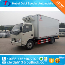Refrigerator Truck Food and Meat Transportation Cooling Van Freezer Truck for sale