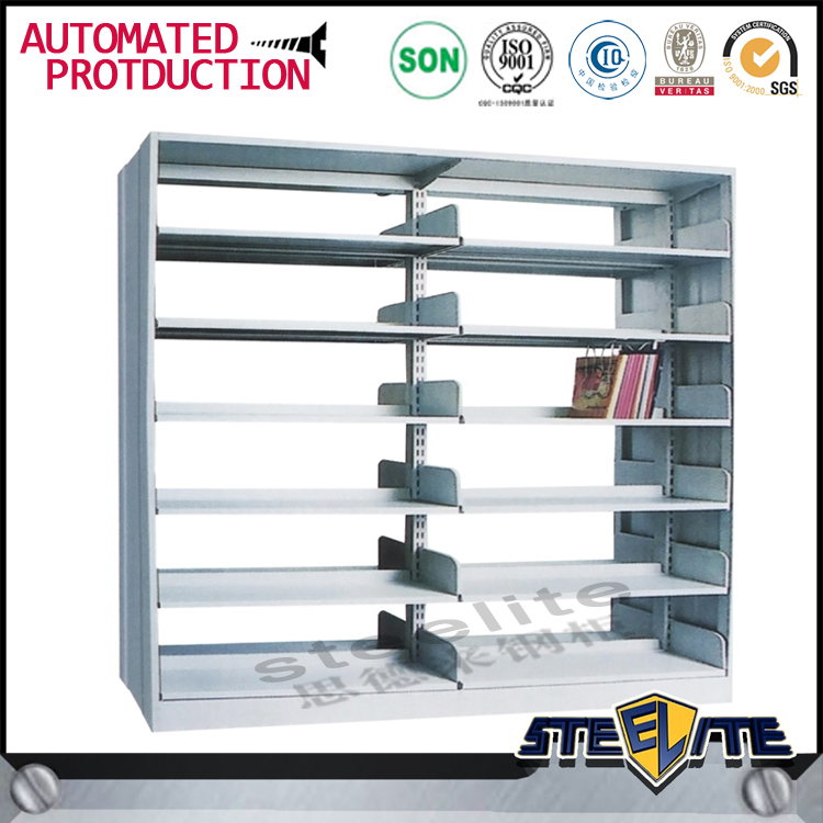 China factory direct library equipment design in book shelf cabinet used library bookcases