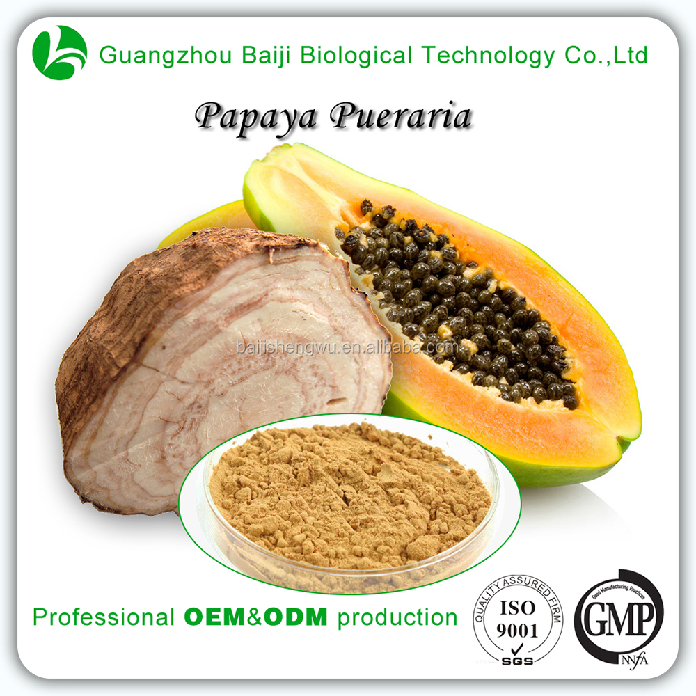 Health Food High Dietary Fibre Slimming Women Papaya Pueraria Powder