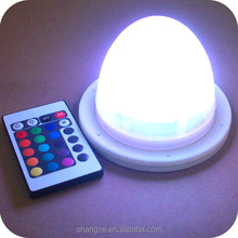 rechargeable led lamp base for led luminous furniture