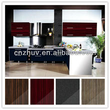 High gloss finished MDF kitchen cabinet