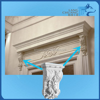 Animal Hand Carved Paintable Gypsum Corbels/Beam Hangers