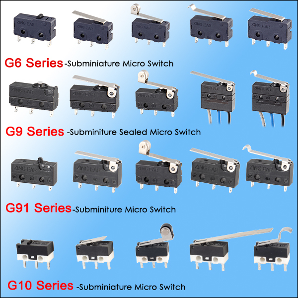 0.1A 48VDC waterproof miniature slide switches