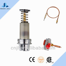 Gas cooker magnetic pulse solenoid valve