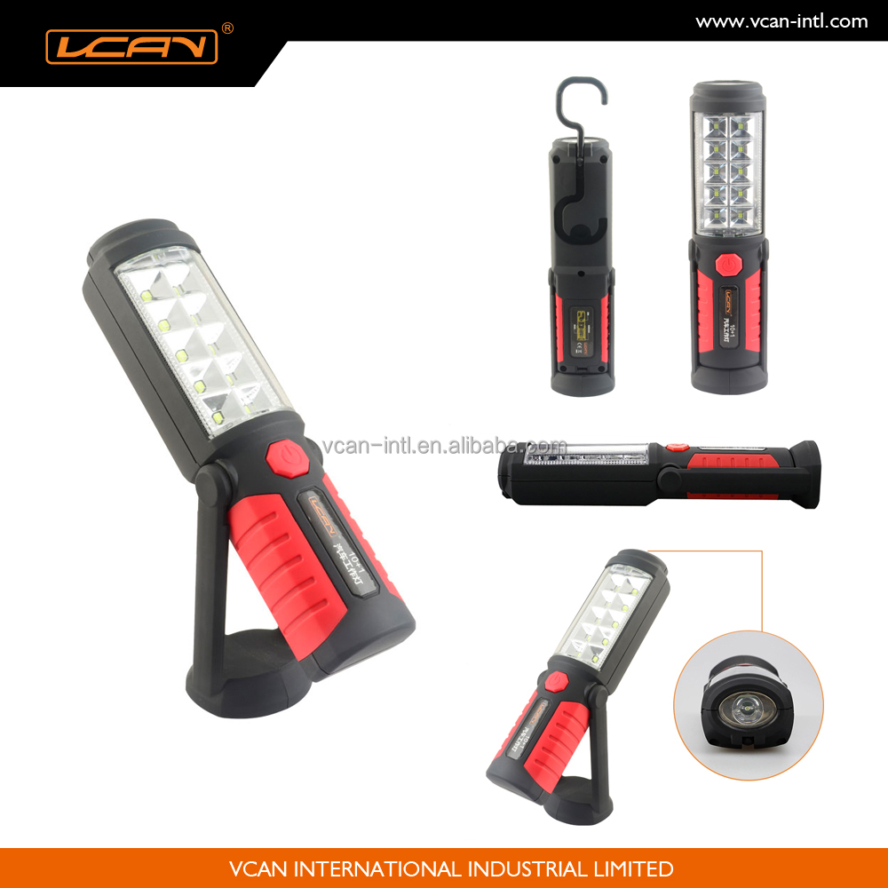 Portable Electric Lights : Portable commercial electric led work light with magnetic