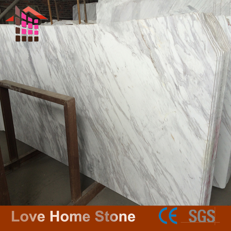 Chinese Supplier High Polished Volakas White Marble for Bathroom
