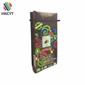 High Quality Wholesale 250g Side Gussest Coffee Bag With Frosted Tin Tie