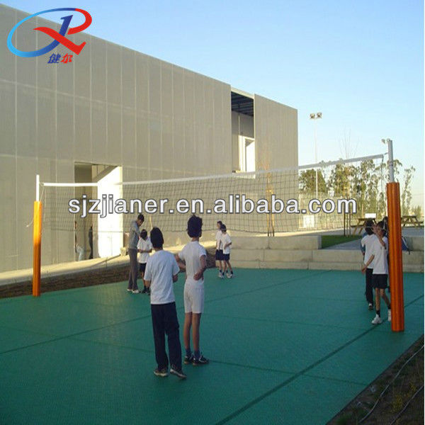Plastic Interlock Volleyball Sports Flooring