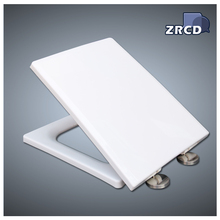 Quality assurance square plastic family toilet seat and cover plate
