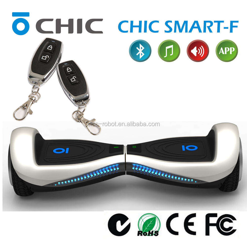balancing APP CHIC SMART F High Speed 4 wheel electric scooter