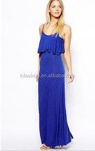 China wholesale clothing maxi dress/latest design maxi dresses 2014 evening dress gown